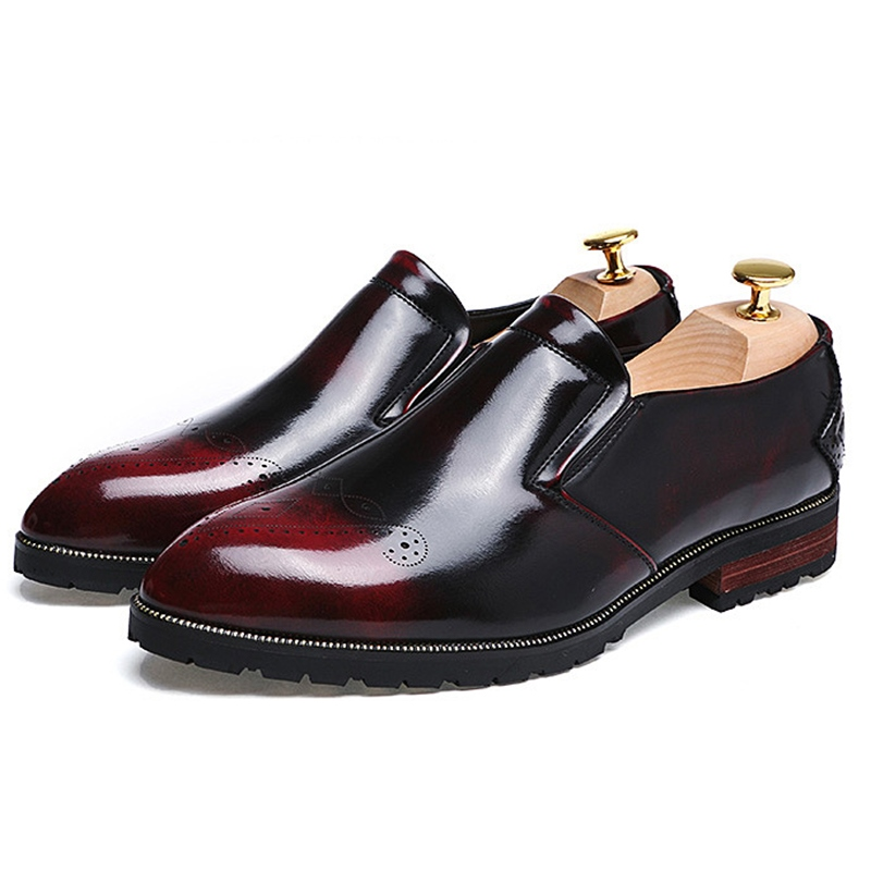 Ericdress Patent Leather Men's Oxfords