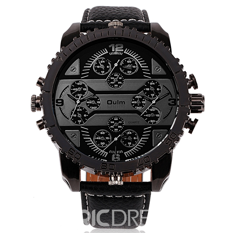 Ericdress High Quality Creative Four-Movement Round Case Watch for Men