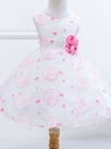 Ericdress Floral Lace Sleeveless Tutu Girls Dress