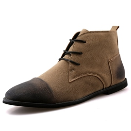 Ericdress Retro Lace up Men's Martin Boots