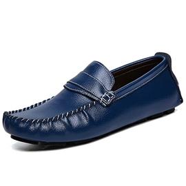 Ericdress Sinple Solid Color Men's Moccasin Gommino