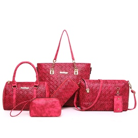Ericdress Classic Weaved Pattern Handbags(6 Bags)