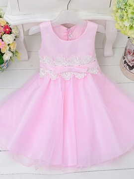 Ericdress Bowknot Mesh Sweet Ball Gown Dress