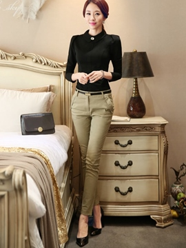 Ericdress Ladylike Long Sleeve Blouse Formal Suit