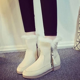 Ericdress Side Zipper Anti Skid Snow Boots