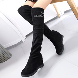 Ericdress Charming Suede Kneee High Boots