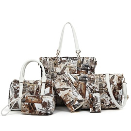 Ericdress Vogue Graffiti Handbags(6 Bags)