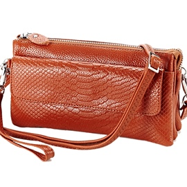 Ericdress Multi-Layer Serpentine Shoulder Bag