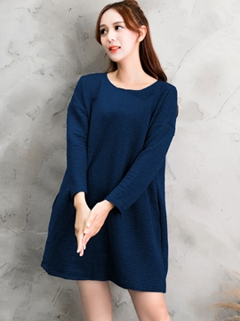 Ericdress Loose Shoulder sleeve Loose Casual Dress