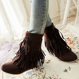 Ericdress Pretty Tassels Ankle Boots
