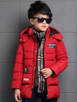 Ericdress Zipper Plain Boy's Down Coat