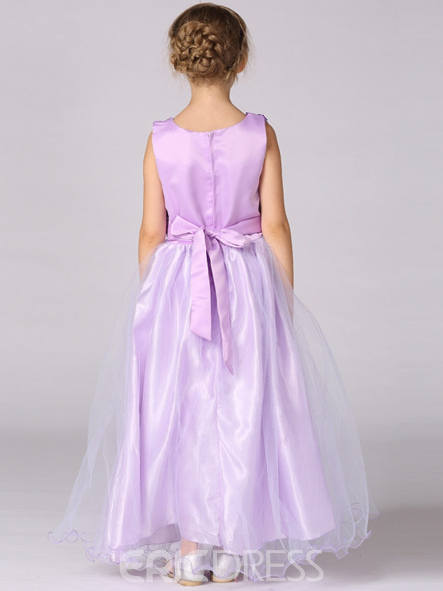 Ericdress Sequins Sleeveless Princess Girls Dress