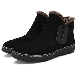 Ericdress Warm High Top Side Zip Men's Boots