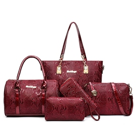 Ericdress Exquisite Embossed Handbags(6 Bags)