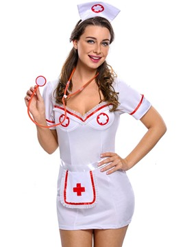 Ericdress Short Sleeve Night-Nurse Cosplay Costume