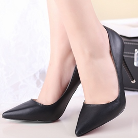 Ericdress PU Plain Point Toe Pumps