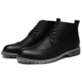 Ericdress Chic Brugue Men's Martin Boots