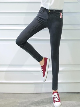 Ericdress Full Length Skinny Jeans
