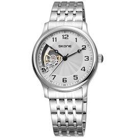 Ericdress Mechanical Stainless Steel Band Men's Watch