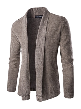 Ericdress Plain Cardigan Vogue Casual Men's Knitwear