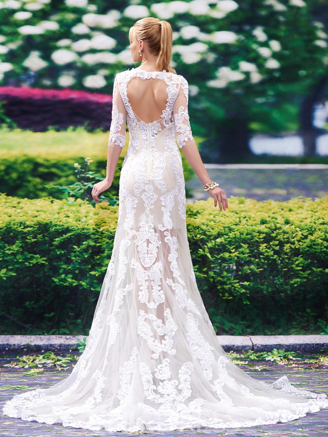 Ericdress Charming Scoop Backless Mermaid Wedding Dress