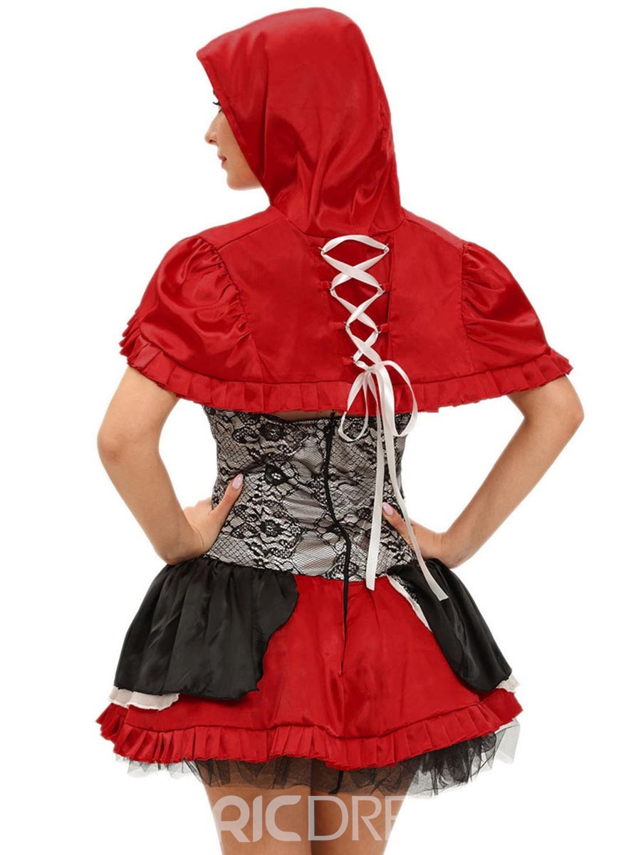 Ericdress Color Block Patchwork Cape shawl Costume