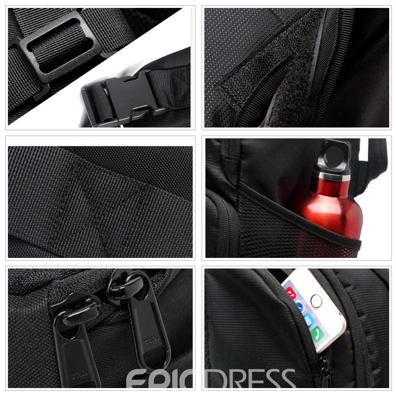Ericdress Nylon Plain Travelling Bags
