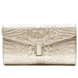 Ericdress Simple Croco-Embossed Evening Clutch