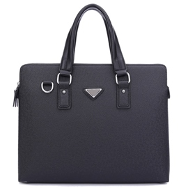 Ericdress Classic Thread Decorated Commute Men's Bag