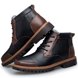 Ericdress Patchwork Thread Men's Martin Boots