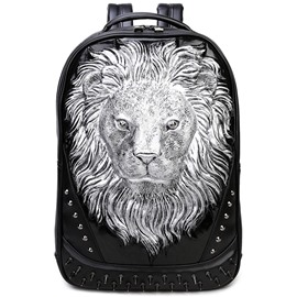 Ericdress Europeamerica Lion Rivets Men's Backpack