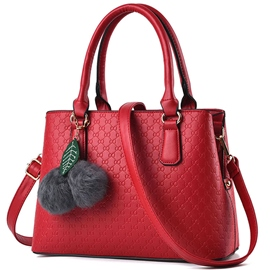 Ericdress Bowknot Embossed Motorcycle Handbag