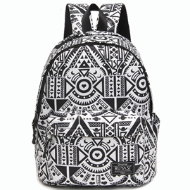 Ericdress Personality Geometric Pattern Travel Backpack