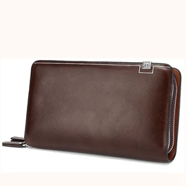 Ericdress European Double Zipper Men's Wallet