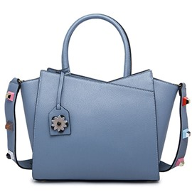 Ericdress Solid Color Rivets Wing Handbag
