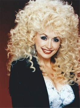 Ericdress Dolly Parton Style Mid-Length Afro Curly Synthetic Capless Hair Wigs 14 Inches