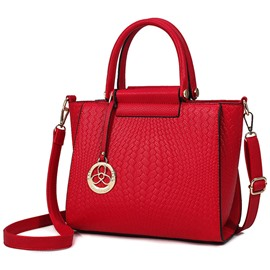 Ericdress Casual Weaved Embossed Handbag