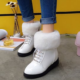 Ericdress Charming Furry Ankle Boots