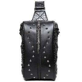 Ericdress Personality Cool Rivets Men's Waist Bag