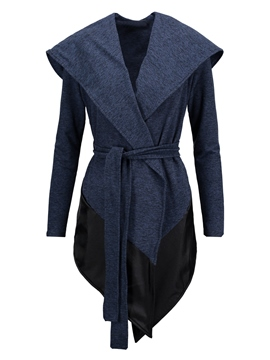 Ericdress Color block Patchwork Cool Hoodie