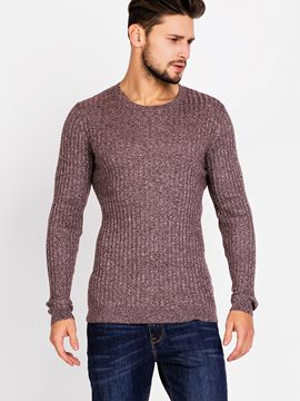 Ericdress Vogue Warm Pullover Slim Men's Sweater