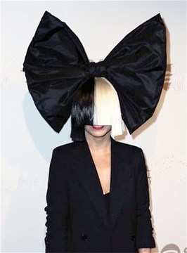 Ericdress Sia Short Half Blonde and Black Straight Cosplay Synthetic Capless Hair Wigs 12 Inches