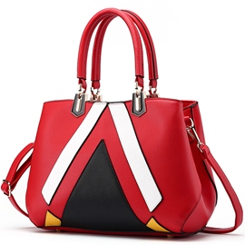 Ericdress Sweet Stereo Color Block Handbag