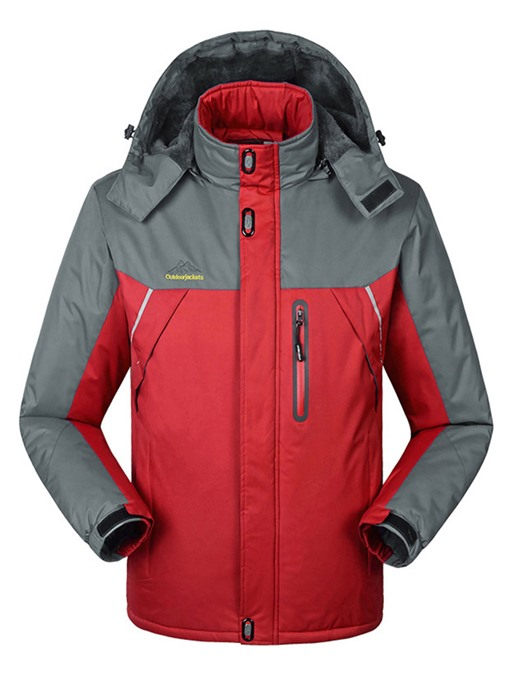 Ericdress Plus Size Warm Thickening Windproof Waterproof Couple Ski Jacket