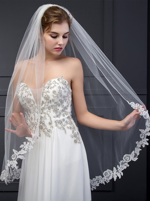 Ericdress Classical Appliques Wedding Veil