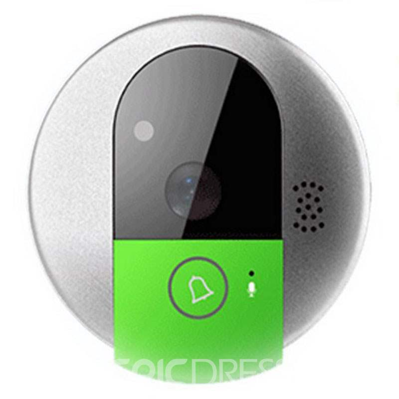 Ericdress Wireless WiFi Video Doorbell Viewer for Smart Home Security Video Intercom via Cellphone App Remote Control