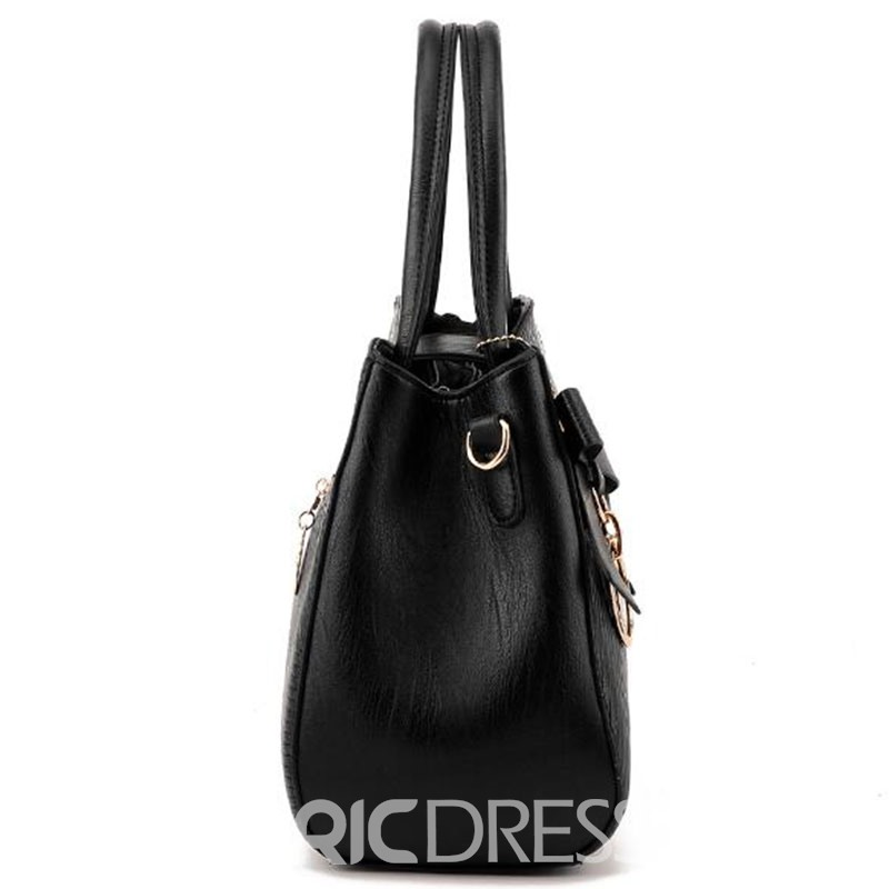Ericdress Simple Geometric Embossed Handbag