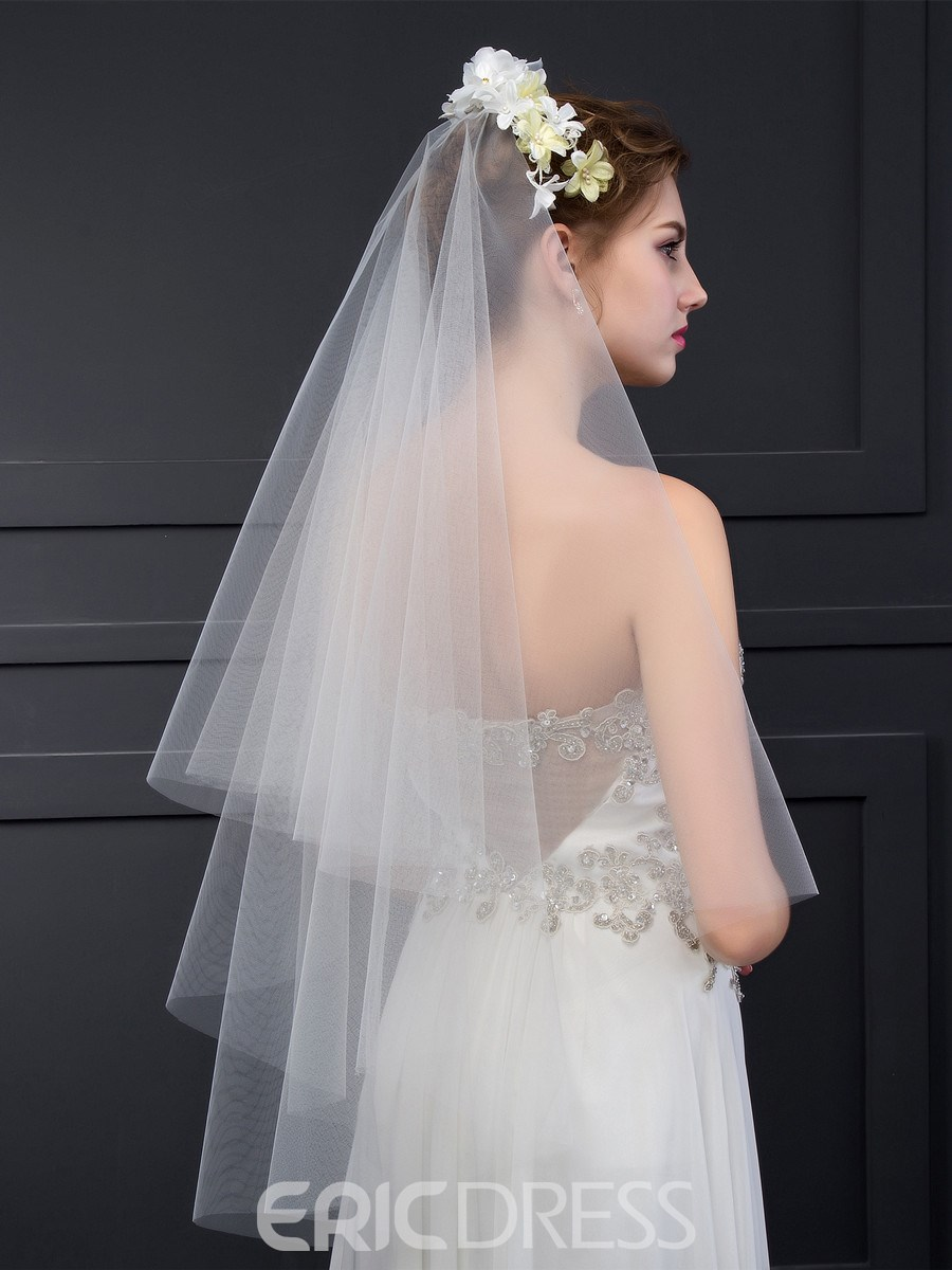 Ericdress Charming Bridal Veil with Headpiece