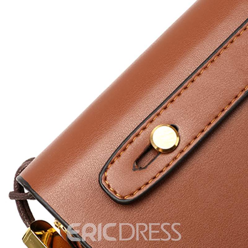 Ericdress PU Rectangle Versatile OL Men's Bag