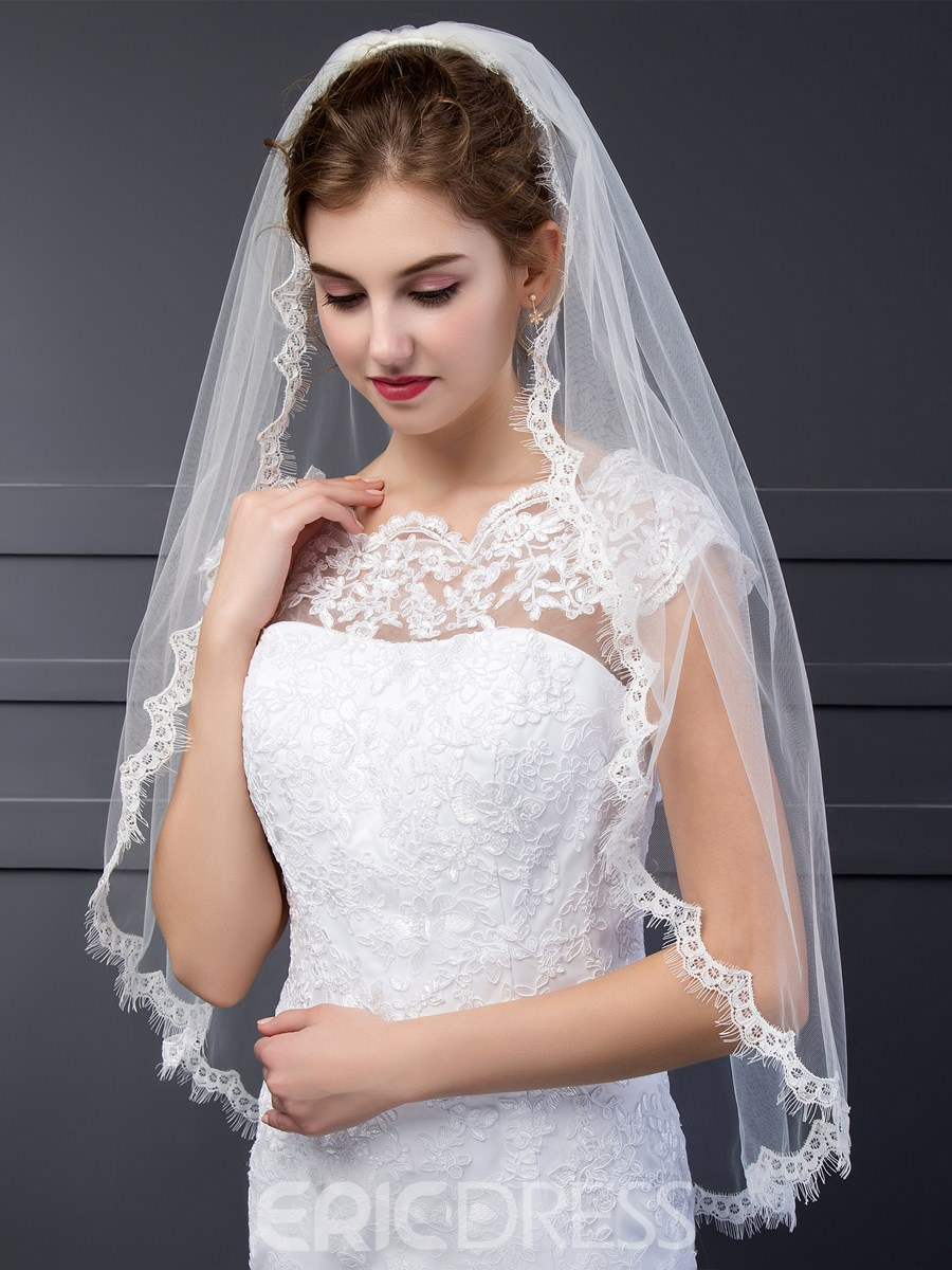 Ericdress Chassical Appliques Bridal Veil